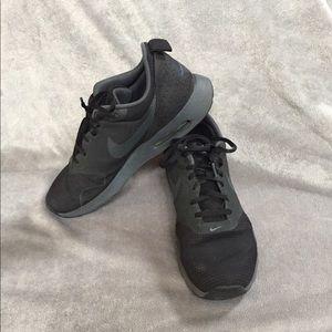 Unisex Blackened Grey Nike Air Max Tavas Sneakers